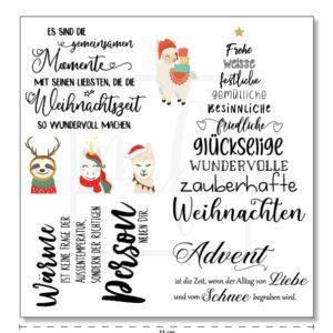 mfc Serviette Weihnachten2020